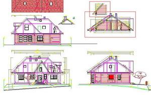 проект дома 14х12